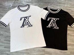 Discount cool mens high tops - 19fw High-quality fashion short sleeve printed men tshirt cool men's Designer tee shirts tops men T-shirt cotton ca