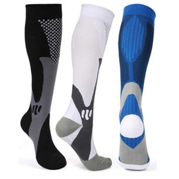 adult socks NZ - Brothock Compression Socks Nylon Nursing Stockings Specializes Outdoor Cycling Fast-drying Breathable Adult Sports Socks