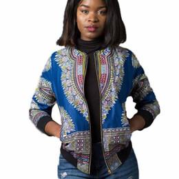 $enCountryForm.capitalKeyWord Australia - 2017 fashion ladies coat Women Long Sleeve Fashion African Print Short Casual Jacket Mandarin Collar autumn coat for ladies #8