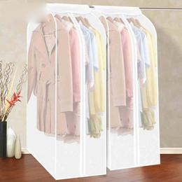 $enCountryForm.capitalKeyWord Australia - Large Capacity Home Clothing Dress Garment Storage Cloth Hanging Suit Coat Dust Cover Protector Wardrobe Storage Bag