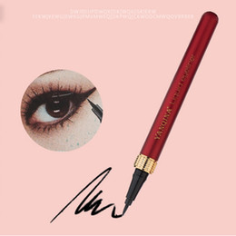 $enCountryForm.capitalKeyWord Australia - Fashion Waterproof Eyeliner Lasting Anti Smudge Eyeliner Pencil Makeup Supplies Cosmetic Beauty Makeup Liquid Hot Sale 2019