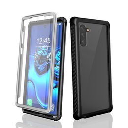 $enCountryForm.capitalKeyWord NZ - Three-proof mobile phone case for Samsung note10 mobile phone protective jacket outdoor anti-fall protective shell Free shipping