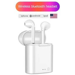 Venta al por mayor de Auricular I7mini mini V5.0 de doble oreja con cargador de auriculares estéreo auriculares Bluetooth Auriculares PARA: iPhone Samsung Huawei