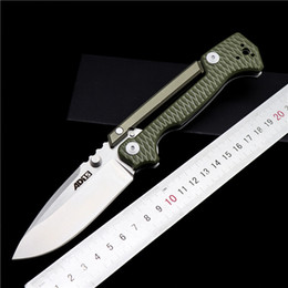 edc cold steel UK - Cold steel AD-15 folding knife G10 handle D2 outdoor tactical knife EDC pocket tool camping survival knife