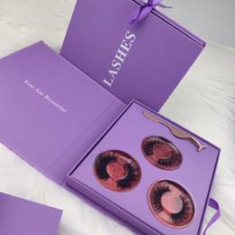 Wholesale Custom Logo Eyelash Boxes Gift Box Lashes Package Customize Empty Eyelash Boxes Makeup Cosmetic Case Mink False