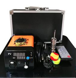 $enCountryForm.capitalKeyWord Australia - Portable Remote Enail electric Dab nail E nail kits TC PID digital temperature controller box with dabber Ti Titanium for Water Glass Bong