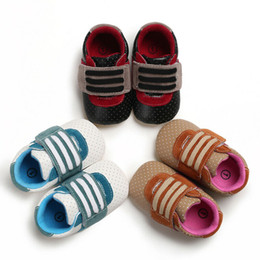 $enCountryForm.capitalKeyWord Australia - Soft Sole Shoes Newborn Baby Boy Girl Pre-Walker Crib Shoes Sneakers 0-18 Months Comfortable baby 710