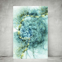 $enCountryForm.capitalKeyWord Australia - WANGART Modern Wall Art Abstract Bedroom Print Office Painting Large Blue Abstract Canvas Wall Picture Living Room Home Decor