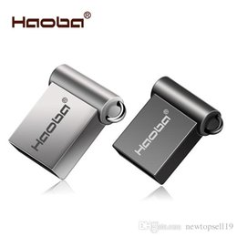 8gb Flash Drive Free Shipping Australia - Top sell Fashion Super Mini metal usb flash drive 4GB 8GB 16GB pen Drive 32GB 64GB usb 2.0 flash stick pendrive free shipping cle usb