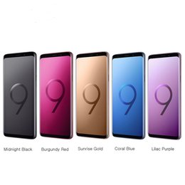 cell phone accessories smartphone Australia - Refurbished smartphone Original Samsung Galaxy S9 Plus S9 Unlocked Cell Phone 64GB 128GB 256GB 5.8 6.2inch 12MP Single Sim 4G Lte