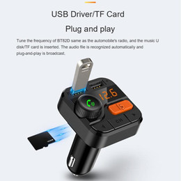 $enCountryForm.capitalKeyWord NZ - BT82D Bluetooth Dual USB Car Charger MP3 Player Handsfree FM Transmitter Car Charger Drop Ship LED Over Current Protection