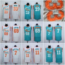 Wholesale Mens Flint Tropics Semi Pro Movie Jersey Flint Tropics Coffee Black Moon Semi Downtown Basketball Jerseys