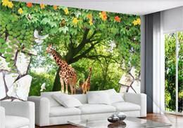 $enCountryForm.capitalKeyWord Australia - 3d wallpaper custom photo murals Background wall 3D three-dimensional wood animal fresh natural scenery home decor wall art pictures