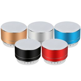 $enCountryForm.capitalKeyWord Australia - A10U wireless bluetooth speaker metal mini portable subwoof sound with Mic TF card FM radio AUX MP3 music play loudspeaker