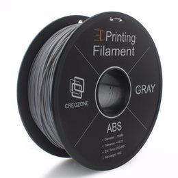 $enCountryForm.capitalKeyWord UK - Freeshipping Premium Quality ABS Filament ABS Plastic for 3D Printer 1. 75mm 1KS Spool 3D Plastic Gray Color