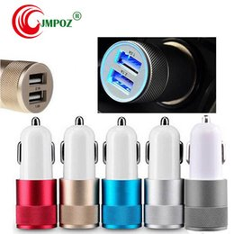 charger 1a Australia - Car Charge Fast Quick 2.1A 1A Smart LED Car Charger Dual 2 Port Fast Charging 2.1A USB Car Charger For iPhone Samsung Sony LG Android