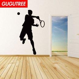 $enCountryForm.capitalKeyWord NZ - Decorate Home tennis cartoon art wall sticker decoration Decals mural painting Removable Decor Wallpaper G-1653