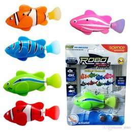 $enCountryForm.capitalKeyWord Australia - Robo Fish Baby Novelty Water Activated Battery Powered RoboFish Toys Childen Kids Robotic Gift Bath Toys Electronic Fish