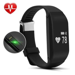 smart track Australia - Orginal Wristband HR Smart Heart Rate Monitor Bracelet Waterproof Bluetooth Wristband Health Fitness Tracking for Android iOS