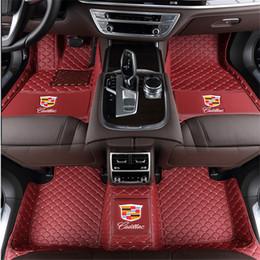 Cts Car Australia - Applicable to Cadillac CTS Sedan, four doors 2008-2013 car luxury surrounded by wear-resistant environmentally friendly carpet stitching mat