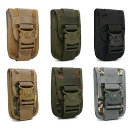 Wholesale Tactical Molle Phone Holster Outdoor Belt Waist Bag Utility Vest Card Carrier Bag Mini Multi function Hook Loop Travel Pack