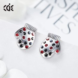 Stud SwarovSki online shopping - Swarovski Crystal Ear Nails for New European and American Individual Gloves for Christmas