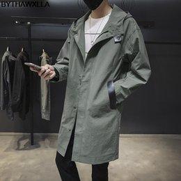 $enCountryForm.capitalKeyWord NZ - BYTHAWXLLA Hot Sale Coat Mens Long Coat Masculino Mens Clothing Long Jackets & Coats Style Overcoat W2176
