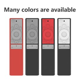 Silicone coverS for remote controlS online shopping - Fitted Case Remote case for Samsung QLED smart TV cover for Samsung Smart Remote control BN59 A TV One Silicone