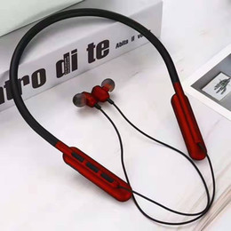 $enCountryForm.capitalKeyWord Australia - Fashion Brand Neckband Wireless Bluetooth Earphones Designer In Ear Bluetooth Headset Headphones Fashion HIFI Sports Earbuds 3 Color