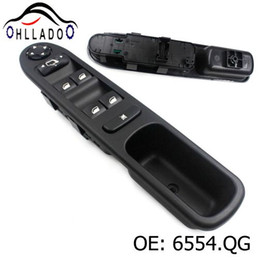 HLLADO New 6554.QG 6554QG Driver Side Electric Power Master Window Switch A227213 For Peugeot 207 Citroen 96642444XT High Quality on Sale