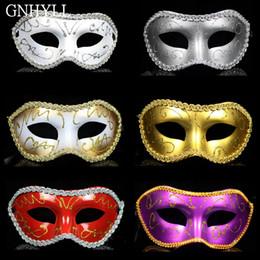 $enCountryForm.capitalKeyWord Australia - HOT Men Women Masquerade Costume Venetian Masquerade Mask Villain Eye Mask For Wedding Bithday Party Decoration