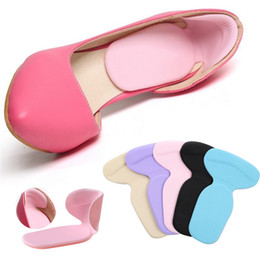 $enCountryForm.capitalKeyWord Australia - Orthopedic Insole New T-Shape Silicone Non Slip Cushion Foot Heel Protector Liner Shoe Insole Pads Soft Comfortable Inserts