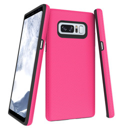 Coating For Plastic Australia - DOKDO Neon Color Sports Phone Case For Samsung Note 8 Luxury Coating Back Ultra Defender TPU + PC Shock Absorbent Protective Phone Case