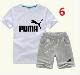 Summer Football Camps Australia - children's wear summer Korean version of the new boy short-sleeved fashion cotton letters printed short-sleeved T-shirt comfort an