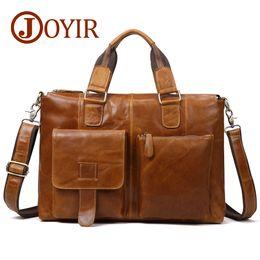 Best Sale Handbags Australia - New Genuine Leather designer briefcases Men Messenger Bag fashion Laptop Office Shoulder For Handbag Male Factory Sale Best document case