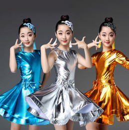 $enCountryForm.capitalKeyWord Australia - Ballroom Latin Practice Wear Modern Dance Dress Girls Competition for Children Kids Skirt Salsa Tango Samba Dancewear Cha Cha