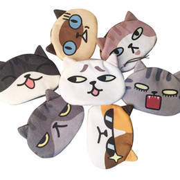 Cat Face Coin Australia - Colors New bag coin purse wallet ladies 3D printing cats dogs animal big face change fashion cute small zipper bag for gift