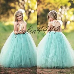 thanksgiving shirts for toddler girls NZ - Lovey Holy Sequined Princess Flower Girl Dresses 2019 Ball Gown First Communion Dresses For Girls Sleeveless Tulle Toddler Pageant Dresses