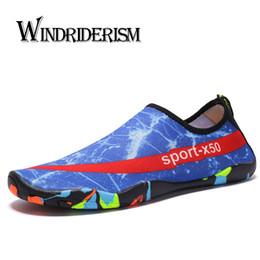 Beach Shoes 47 Australia - 2019 New Brand Designer Fashion Slip on Lovers Aqua Shoes Light Comfortable Men Beach Water Shoes 35-47 Zapatos De Playa Pareja