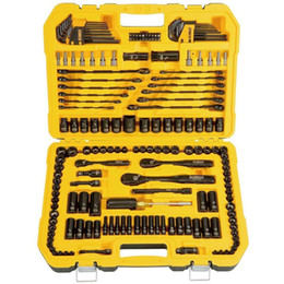 Wholesale DEWALT Piece Mechanics Tool Set Ratchet Socket Spark Plug Kit BNIBListed fo