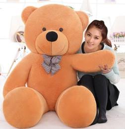 $enCountryForm.capitalKeyWord Australia - Giant teddy bear 200cm 2m large big stuffed toys animals plush life size kid children baby dolls girl Christmas valentine gift