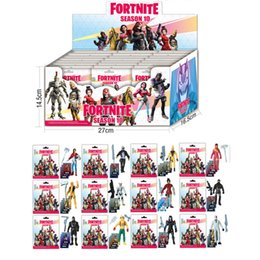 Wholesale New Fortnite 8 9 10 Series Doll Action Figures With card Kids Toys Christmas Gift for children