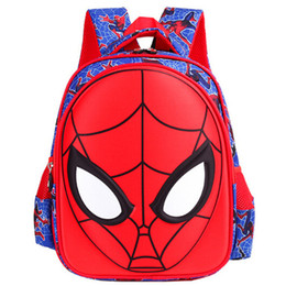 China Spider-Man Backpacks Children's School Bag 1-6 Grade Boys Girls Children 6-12 Years Old Waterproof Ridge Backpacks For Princess And Prince cheap cartoon princess prince suppliers