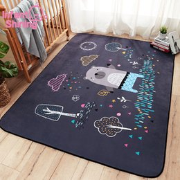$enCountryForm.capitalKeyWord Australia - Infant Shining Cartoon Baby Play Mat Thick Suede Living Room Carpet Kids Children Bedroom Rugs Eco-friendly Blanket SH190917