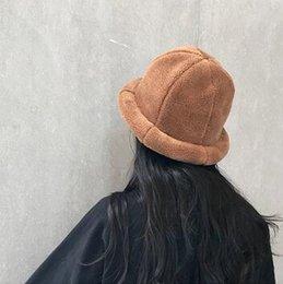 Fiber Garden Australia - 01 fisherman hat female autumn and winter Korean version of the wild Japanese literary network red fashion basin hat female autumn and winte