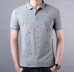 Wholesale wave fashion clothing for sale – custom Lapel Short Sleeve Tees For Male Casual Mens Tops Mens Clothing Fashion Mens Wave Point Polos Summer
