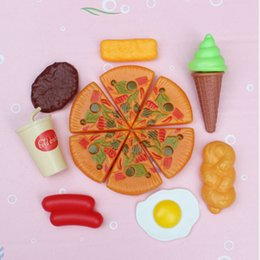 kitchen role Australia - Fake Pizza Fast Cooking Pretend Kitchen Role Play Toy Board Game Children Simulation Foods toys Creative Material Dazzling Toys