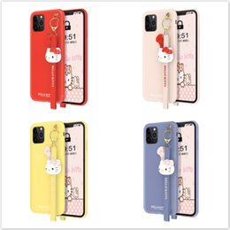 kitty back case Australia - One Piece new Designer phone case For iPhone 11 Pro Max 6S 7P 8 plus X XS fashion Kitty phone cases back cover for gifts
