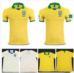 AAA+ new 2019 World cup Brasil soccer jerseys men Brazil Jersey 2019 20 JESUS  COUTINHO FIRMINO MARCELO football kit shirt camisa de futebol 7b0788a37