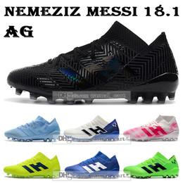 Cheap firm ground football boots online shopping - GIFT BAG Cheap Mens High Tops Football Boots Nemeziz Firm Ground Cleats Nemeziz Messi AG Outdoor Soccer Shoes